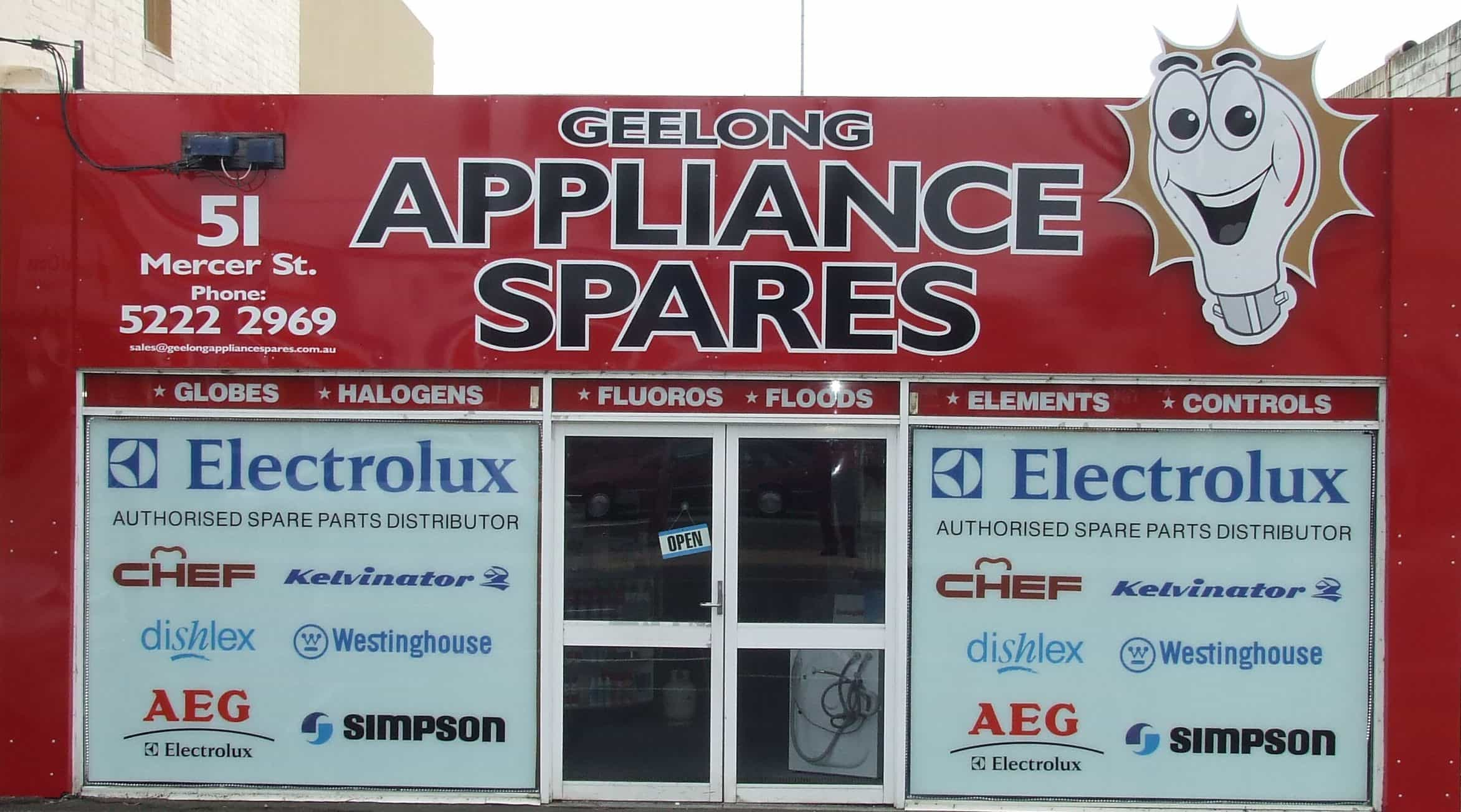 Geelong appliances spares