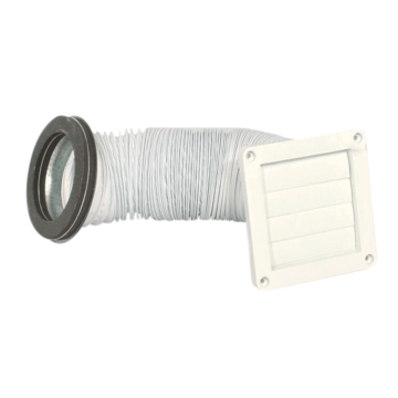 VENT KIT THROUGH THE WALL DRYER CONDENSATION REMOVAL